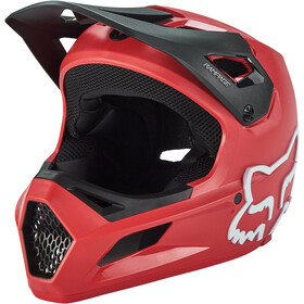 Fox Rampage Helm Jugend bright red